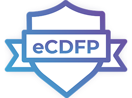 eCDFP certification logo
