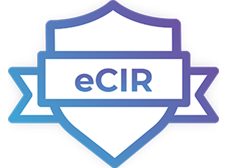 eCIR certification logo