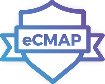 eCMAP certification logo