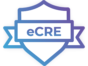 eCRE certification logo