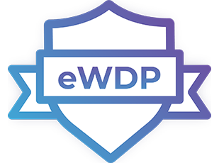 eWDP certification logo
